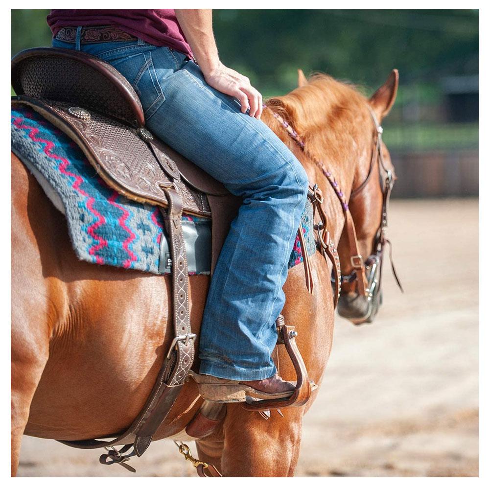 CLASSIC EQUINE Sensorflex Wool Straight Top Saddle Pad