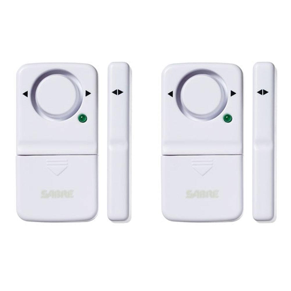 SABRE Magnetic Door/Window 2-Pack Alarm (HS-DWA2)